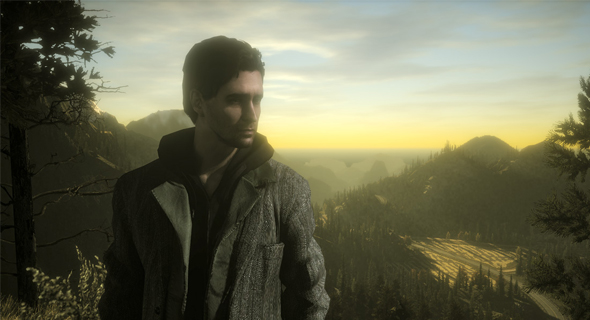 Alan Wake Screenshot Sunset