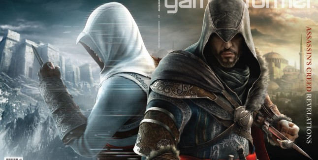 Assassin's Creed Revelations Characters List Artwork of Ezio and Altair