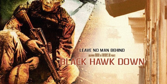 Black Hawk Down Wallpaper Creation