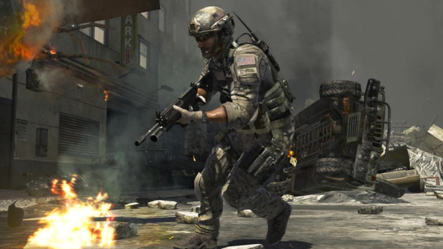 Call Of Duty Modern Warfare 3 Screenshot Of Gameplay Expect Less Visual Pow For Wii