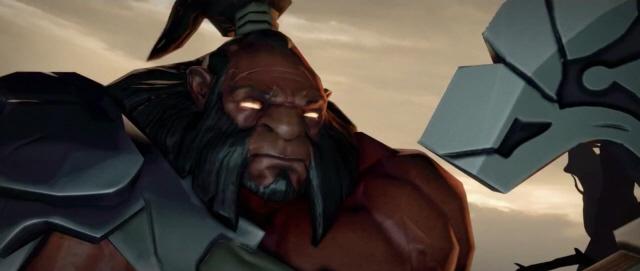 DOTA 2 Screenshot from Cinematic Trailer (Gamescom 2011)