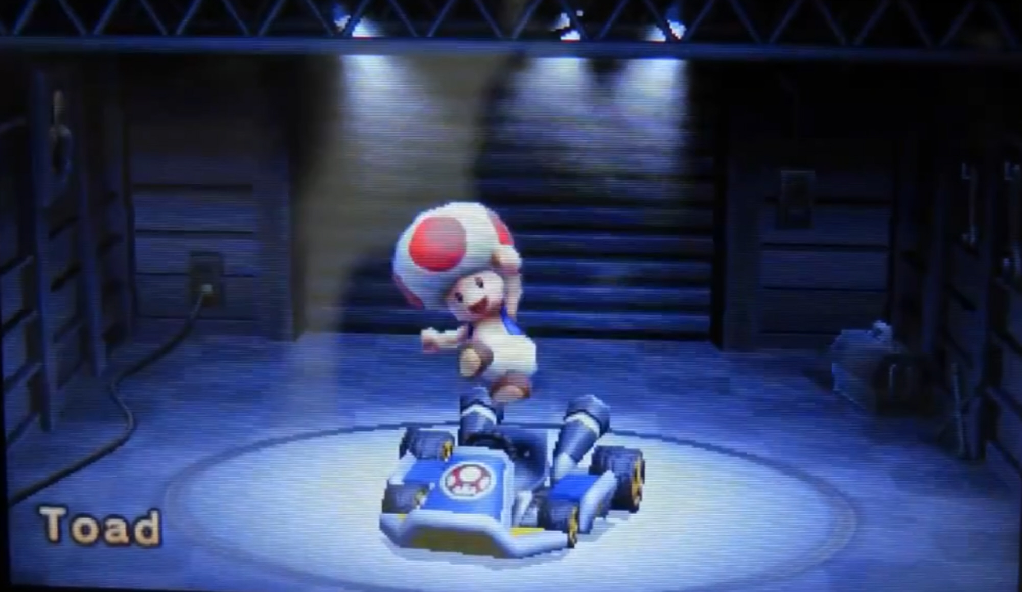 Mario Kart 7 Toad Characters Select Screenshot