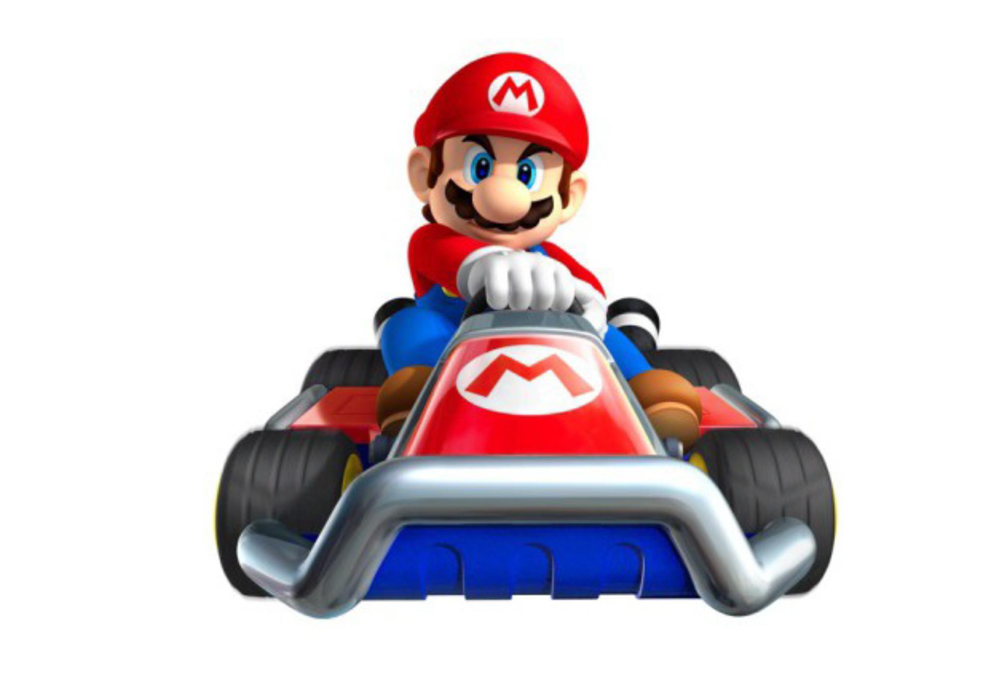 Mario Kart 7 Mario Characters Art