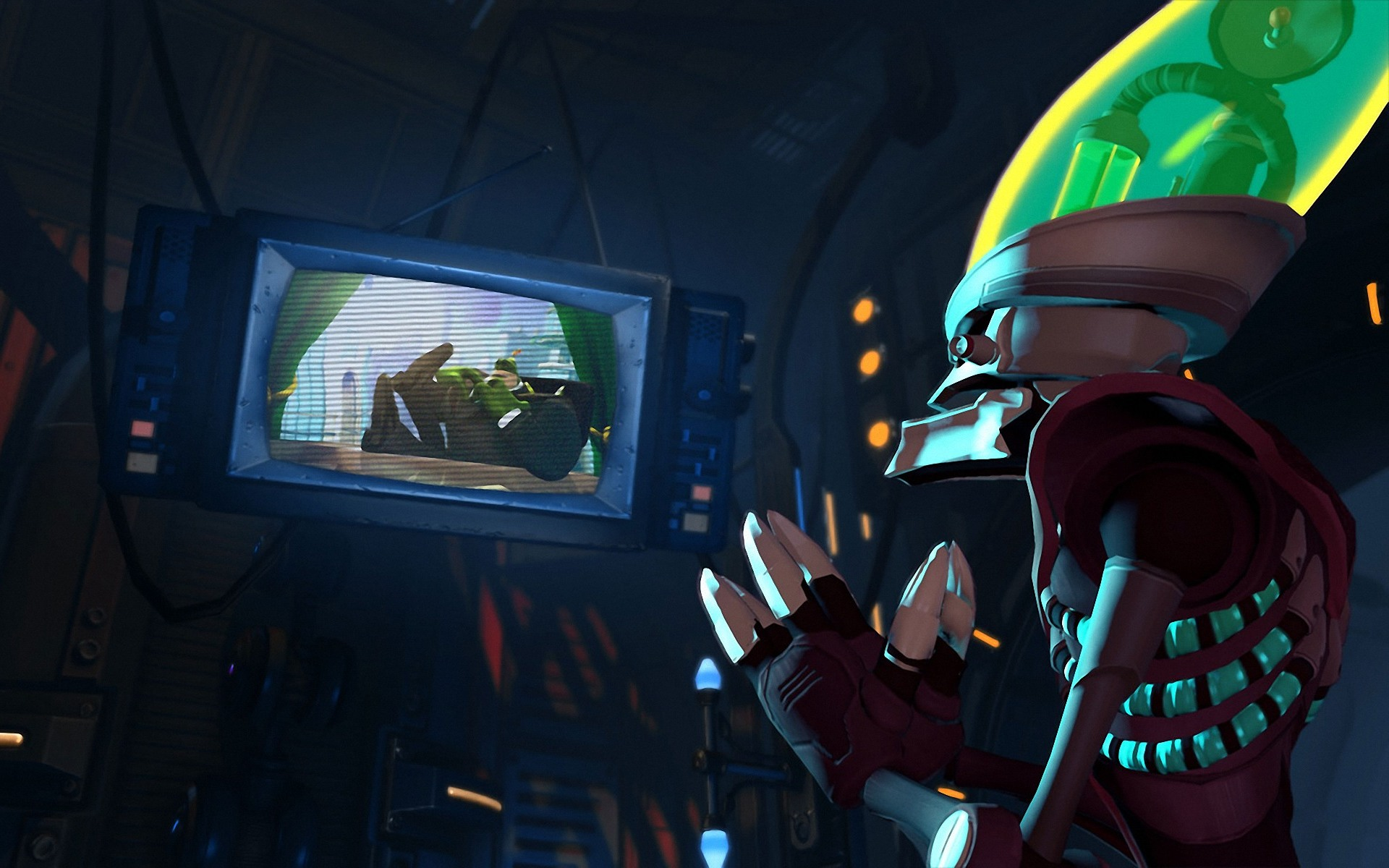 Ratchet Clank All 4 Dr Nefarious Wallpaper
