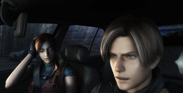 Resident Evil: Operation Raccoon City Screenshot of Claire and Leon from Resident Evil 2