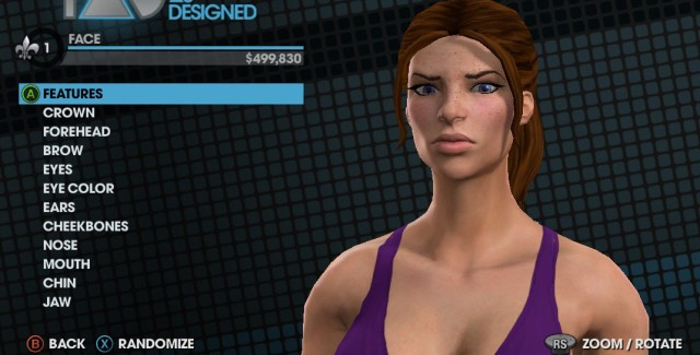 Saints Row: The Third Character Creation Screenshot