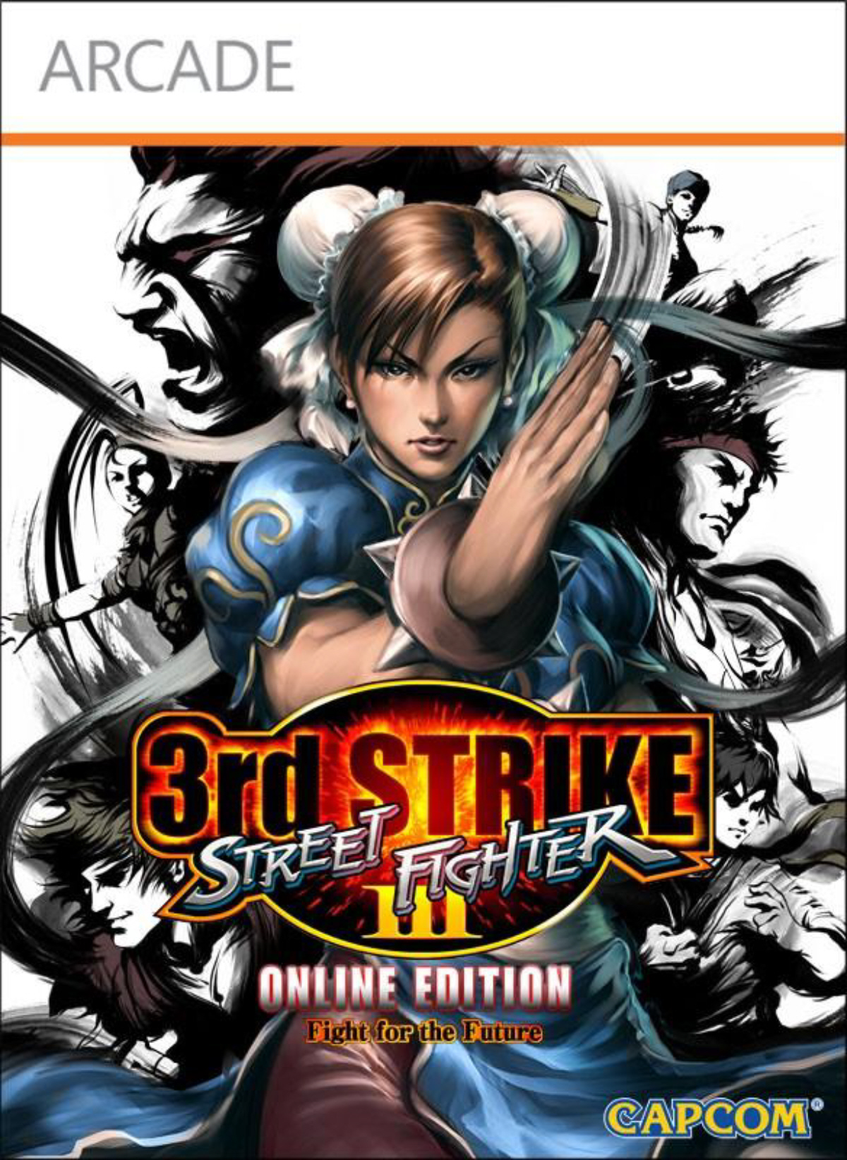 Street Fighter 3 Character List Third Strike Online Edition Box Art