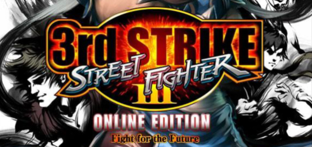 Street Fighter III: Third Strike Online Logo Artwork