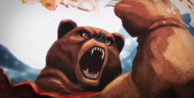 Street Fighter X Tekken Kuma Art Screenshot from Gamescom 2011 Trailer