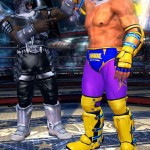 Tekken Tag Tournament 2 Armor King and King In the Ring Characters Screenshot
