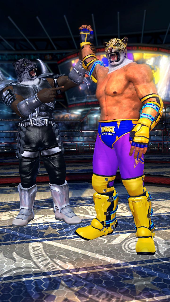 Tekken Tag Tournament 2 Armor King And King In The Ring Characters