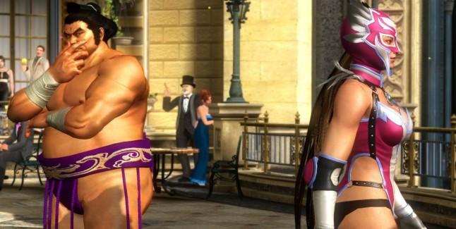 Tekken Tag Tournament 2 Characters Ganryu Sees Julia Jaycee
