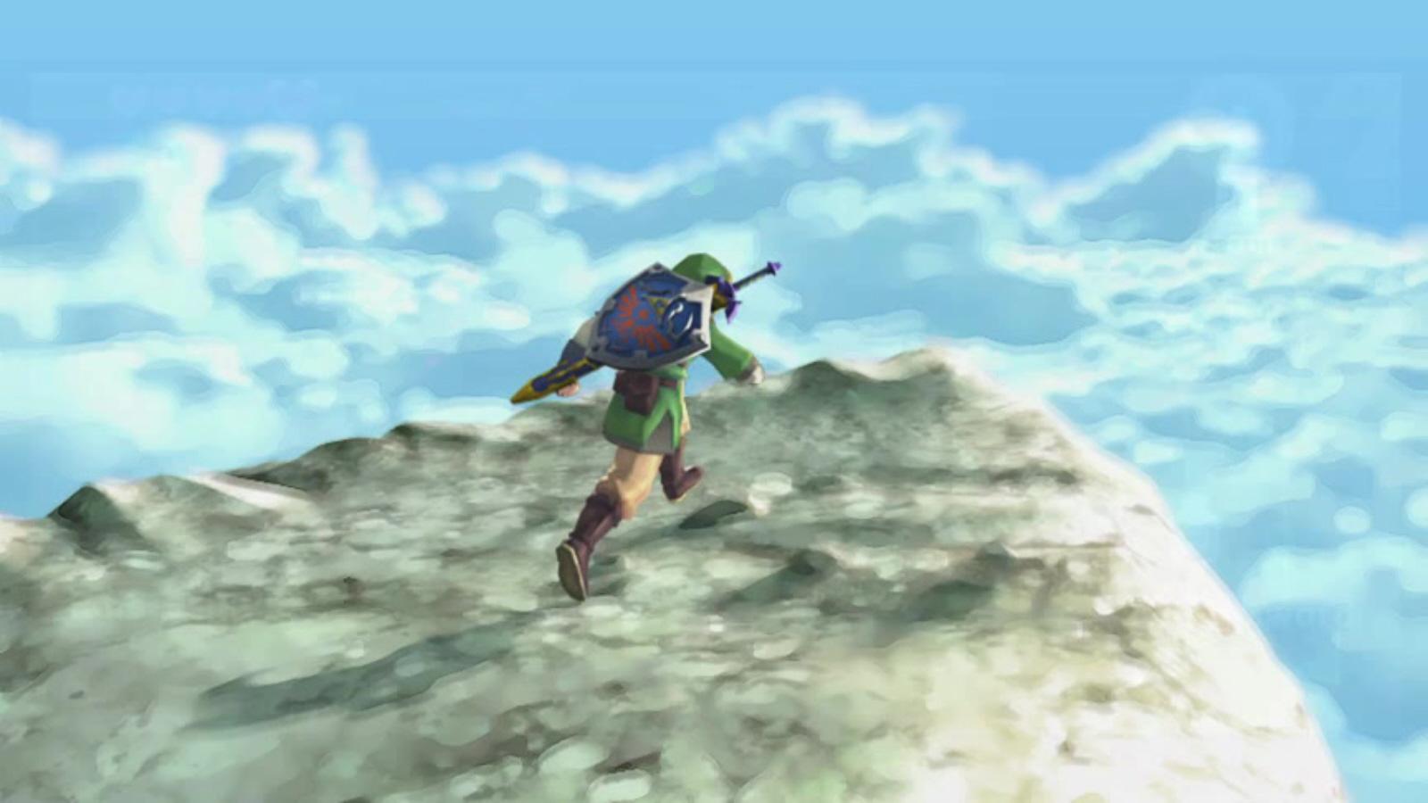 The Legend Of Zelda Skyward Sword Skyloft Screenshot Land Of