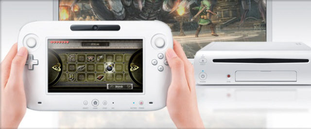 Wii U preview picture of the controller and console system