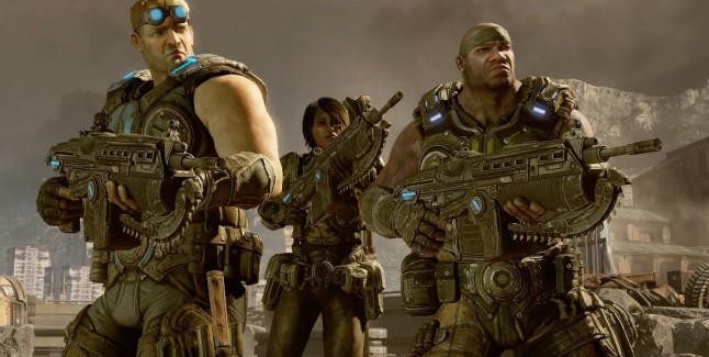 Gears of War 3 Weapons Screenshot