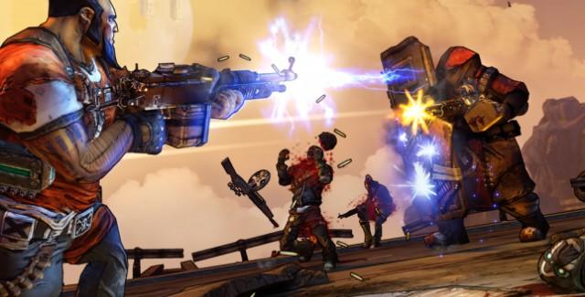 Borderlands 2 Screenshot of killer gameplay (get it?)