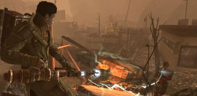 Fallout: New Vegas Lonesome Road Walkthrough Screenshot of the DLC
