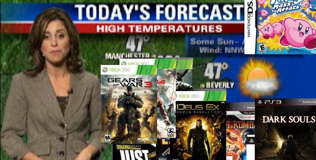 Games Weather Report of Week 38 in 2011