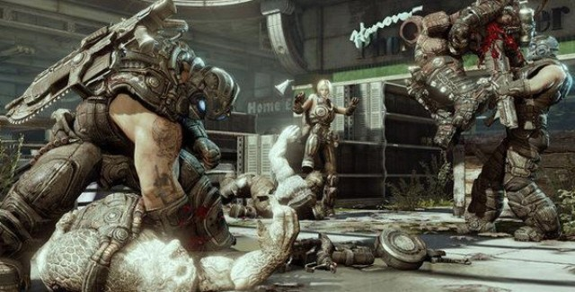 Gears of War 3 Carnage Screenshot (Xbox 360)