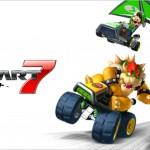 Mario Kart 7 Wallpaper Flying and Racing Carts!