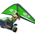 Mario Kart 7 Wallpaper - Luigi Fly!