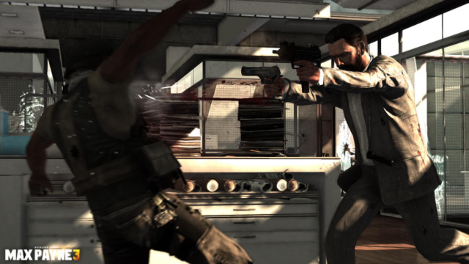 Max Payne 3 Gameplay Shootout Screenshot Xbox 360 Ps3 Pc