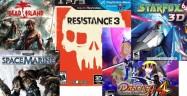 Video Game Releases in Week 36, 2011