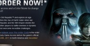 Star Wars: The Old Republic Release Date and Pre-Order Art