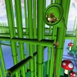 Super Mario 3D Land Wallpaper of Bowser Jr. and the Mario Bros. Staples