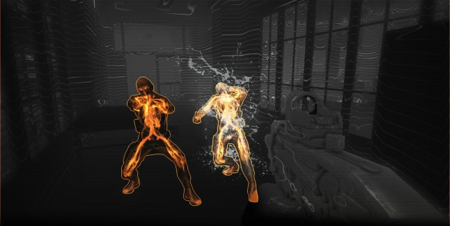 Syndicate 2012 Gameplay Screenshot of Hacking Visual Effects