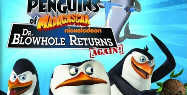 The Penguins of Madagascar: Dr. Blowhole Returns Again! Art