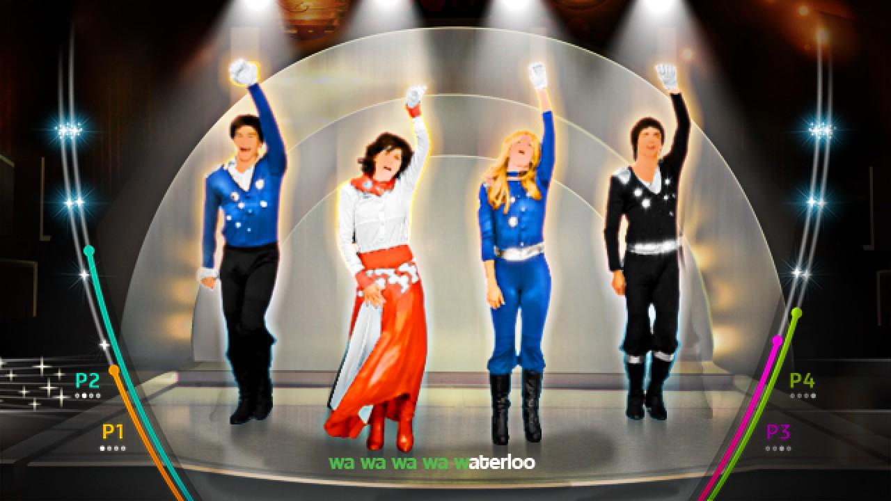 Abba: You Can Dance Screenshot of Waterloo