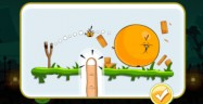The Orange Bird From the Angry Birds Halloween 2011 Update