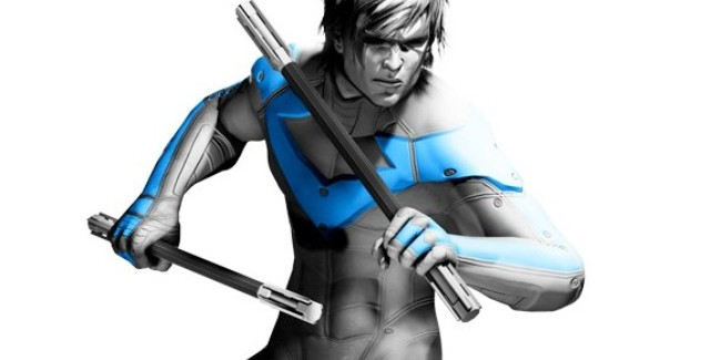 Nightwing from Batman: Arkham Asylum
