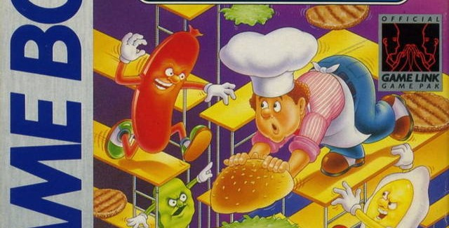 Burger Time Deluxe Game Boy boxart