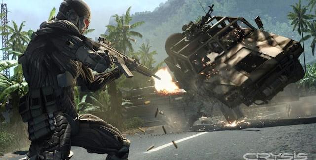 Crysis 1 Xbox 360 Screenshot