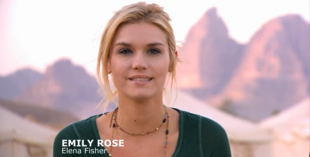 Emily Rose Plays Elena Fisher In Uncharted 3: Drake's Deception