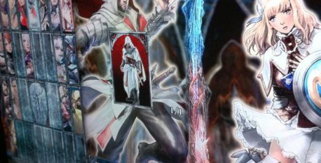 Ezio Soul Calibur 5 Character Select Screenshot