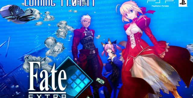 Fate Extra PSP Walkthrough Art