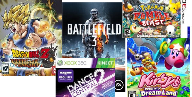 New Video Game Releases of Week 43 in 2011