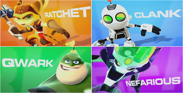 Ratchet and Clank: All 4 One walkthrough co-op artwork
