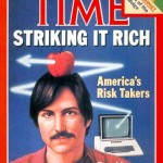 Steve Jobs Time Cover 1982 - America's Risk Takers