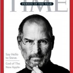 Steve Jobs Time Cover - Person of the Year - The God of Apple