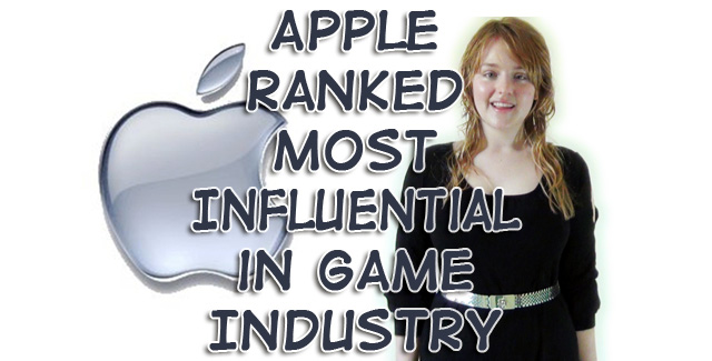 Apple Ranked Most Influential in Game Industry