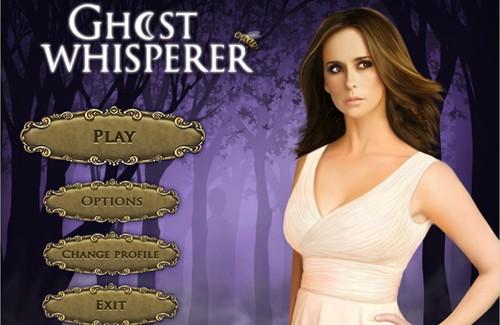 Ghost Whisperer Game Menu