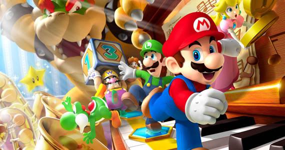 Mario Party 9 Promo Image