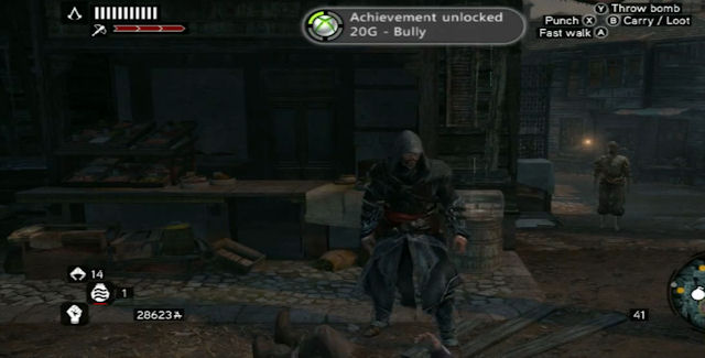 Assassin's Creed Revelations Achievements Bully Screenshot