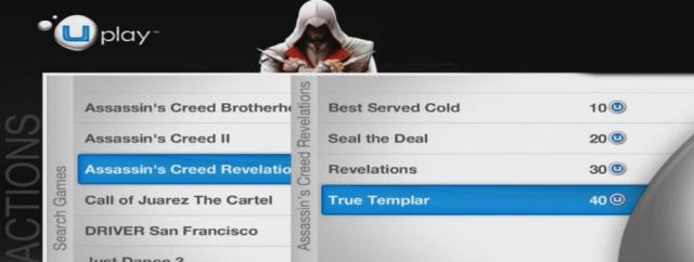 Assassin's Creed: Revelations Uplay Screenshot