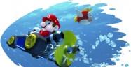 Mario Kart 7 Unboxing Art of Underwater Mario!