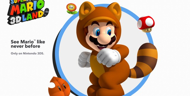 Super Mario 3D Land Tanooki Mario Art